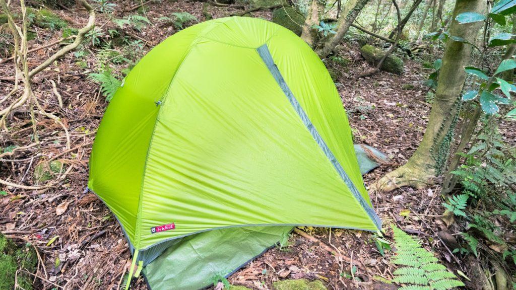 Review:NEMO TANI 1P なるほど日本仕様。いつでも涼しく快適なのに頑丈・軽量な山岳テント