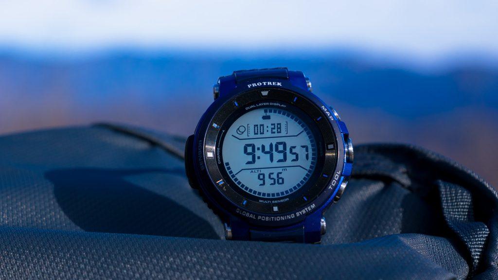 Review:カシオ PRO TREK Smart WSD-F30 が登山・ハイキングでどれだけ使いやすくなっているのか確かめてみた
