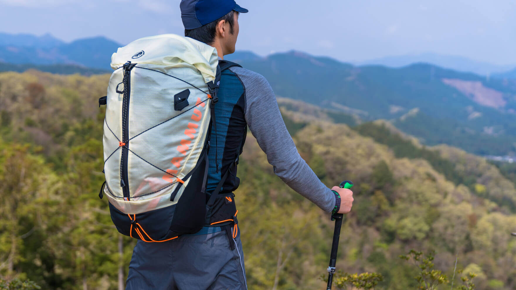 Review:MAMMUT Ducan Spine 28-35 ブレなし、ムレなし、如才なし。ファストパッキングが安心して楽しめるバックパック