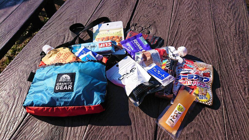 ハイキングでのおすすめは? 市販の行動食をいろいろと食べ比べてみた