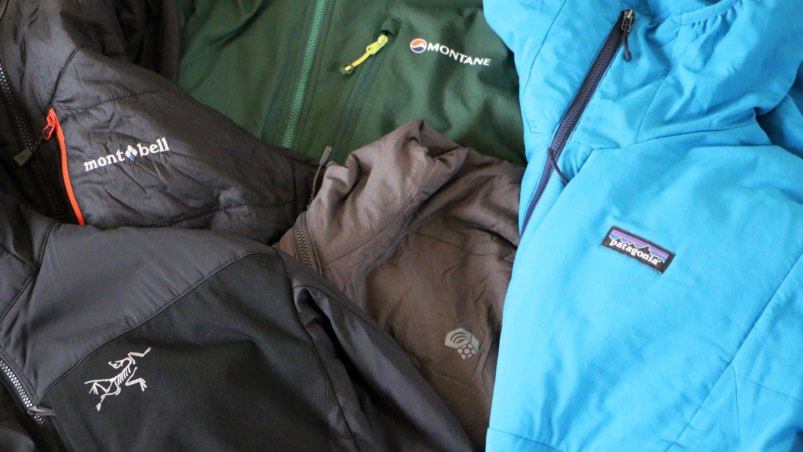 比較レビュー:冬山やバックカントリーでの心強い味方。行動中着っぱなしでOKのアクティブ化繊インサレーションジャケットを着比べてみた