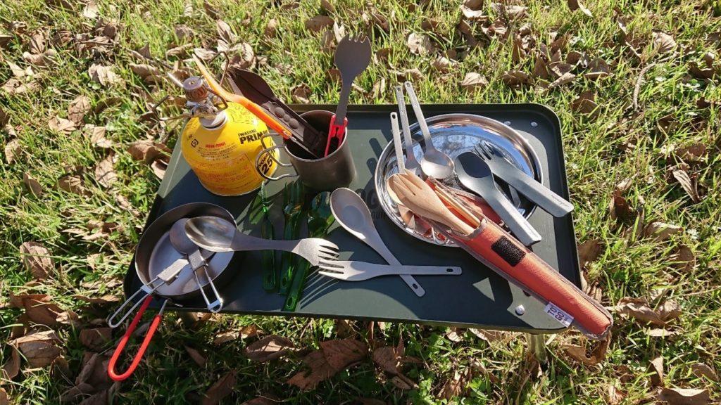 今年こそ、山ごはん・キャンプ飯デビュー!アウトドア用カトラリーを片っ端から使い倒してみた。