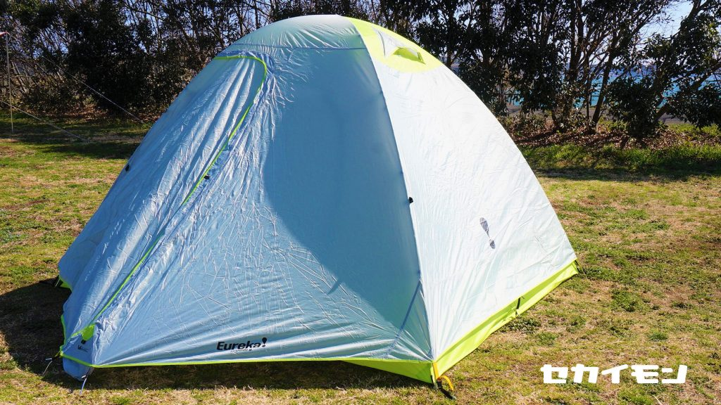 Review:Eureka Midori 6 Tent 「セカイモン」でゲットしたコスパの高い6人用キャンプテント