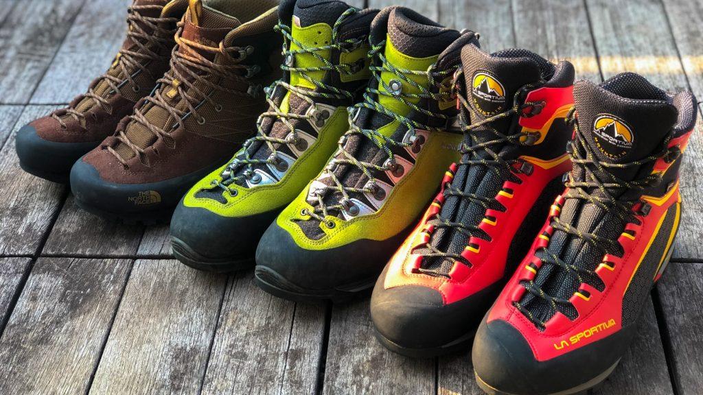 比較レビュー:夏、登山、アルプス。岩場に強いライトアルパインブーツを履き比べてみた 2018