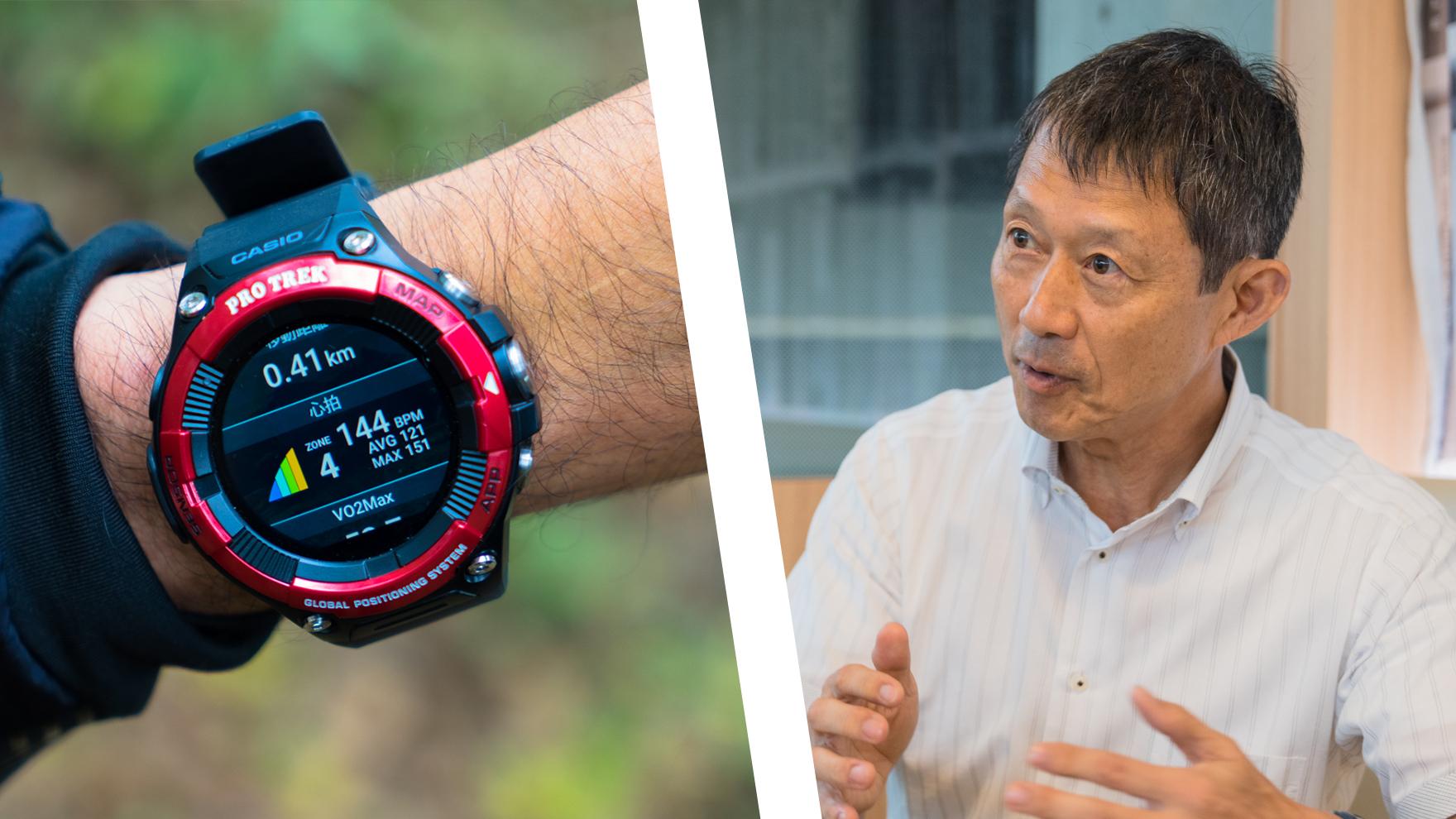 【専門家に聞いてみた】心拍数の計測できるPRO TREK Smart WSD-F21HRを使った疲れない、持久力を高める歩き方とは?
